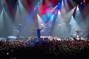 Sepultura discography - Sepultura performing at Metalmania in 2007