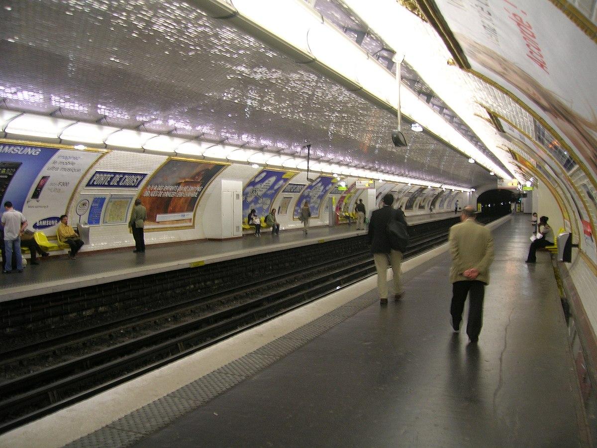 Porte de choisy paris m tro wikipedia - Metro porte d ivry ...