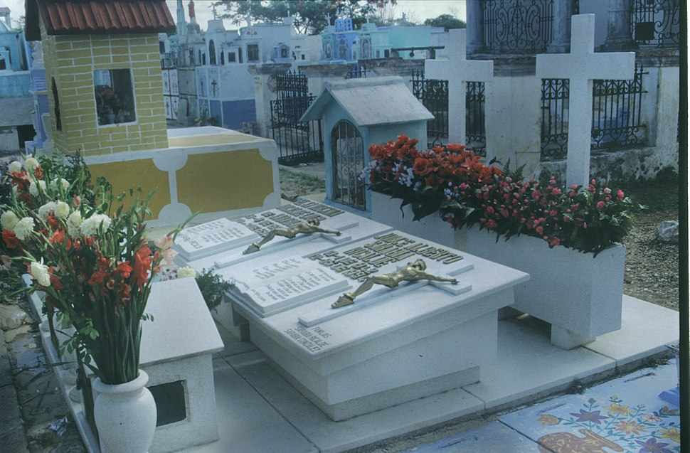 Mexican Cemetery 1986 - 3