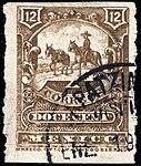 Mexico 1896-97 12c perf 12 Sc262 used.jpg
