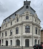 Mița the Cyclist House from Bucharest (Romania).jpg