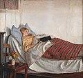 Michael Ancher, Den syge pige, 1882, KMS4002, Statens Museum for Kunst.jpg