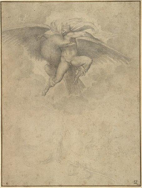 File:Michelangelo、レイプオブガニメデ.jpg