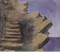 Mikalojus Konstantinas Ciurlionis - CLIFF AT THE SEASIDE - 1905, Anapa.jpg