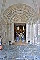 Millstatt Pfarrkirche Christus Salvator West-Portal 16082014 645.jpg