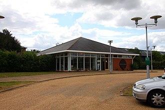 Milton Keynes Museum - Museum entrance