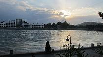 Mingachevir city sunset.JPG