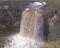 Minneopa Falls in April - panoramio.jpg