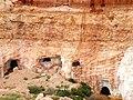 Mintabie's old mine shafts (3738112921).jpg
