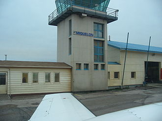Miquelon Airport - Image: Miquelon Flight Airport