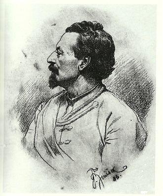 Miroslav Tyrš - Portrait by František Ženíšek