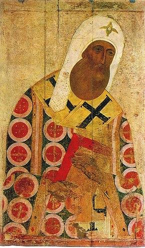 Икона XV века. Государственная Третьяковская галерея