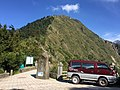Mitsubishi Delica 2G-3476 parking at Yushan Trailhead 20151016.jpg