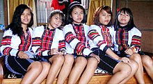 Mizo girls in Mizo traditional dress.jpg