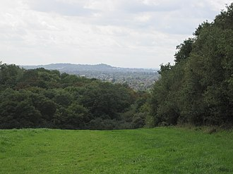 Moat Mount Open Space - Image: Moat Mount view