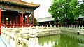 Moat and Lecture Hall at Imperial College, Beijing, China - panoramio.jpg