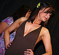 Model at the Spring Fling Fashion Show (IMG 4827a) (5647775686).jpg