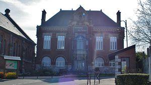 Monchy-au-Bois - The town hall of Monchy-au-Bois