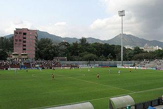 Mong Kok Stadium - Mong Kok Stadium before its 2011 renovation