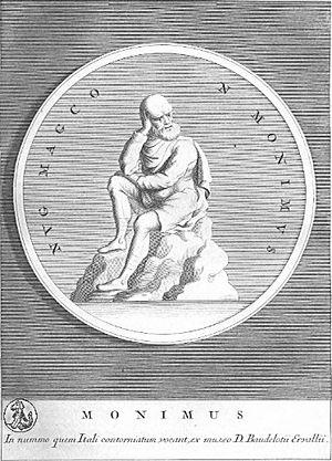 Monimus - Monimus of Syracuse