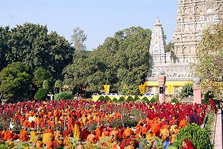 Panorama di Bodh Gaya