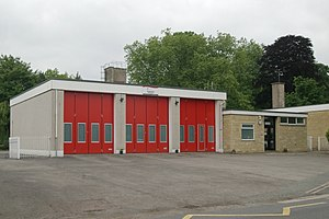 Monmouth Fire and Rescue Station - Monmouth Fire Station