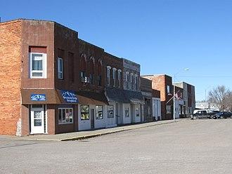 Monroe, Iowa - Downtown Monroe