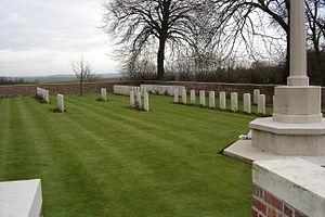 Montbrehain - Military cemetery