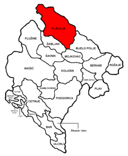 Pljevlja Municipality in مونٹینیگرو