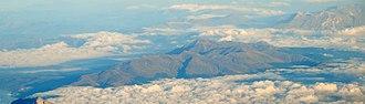 Monti della Laga - Panorama of Monti della Laga.