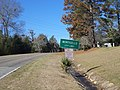 Monticello City Limit, CR 146 WB.JPG