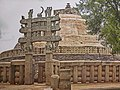 Monument at Sanchi Stupa India 16.jpg