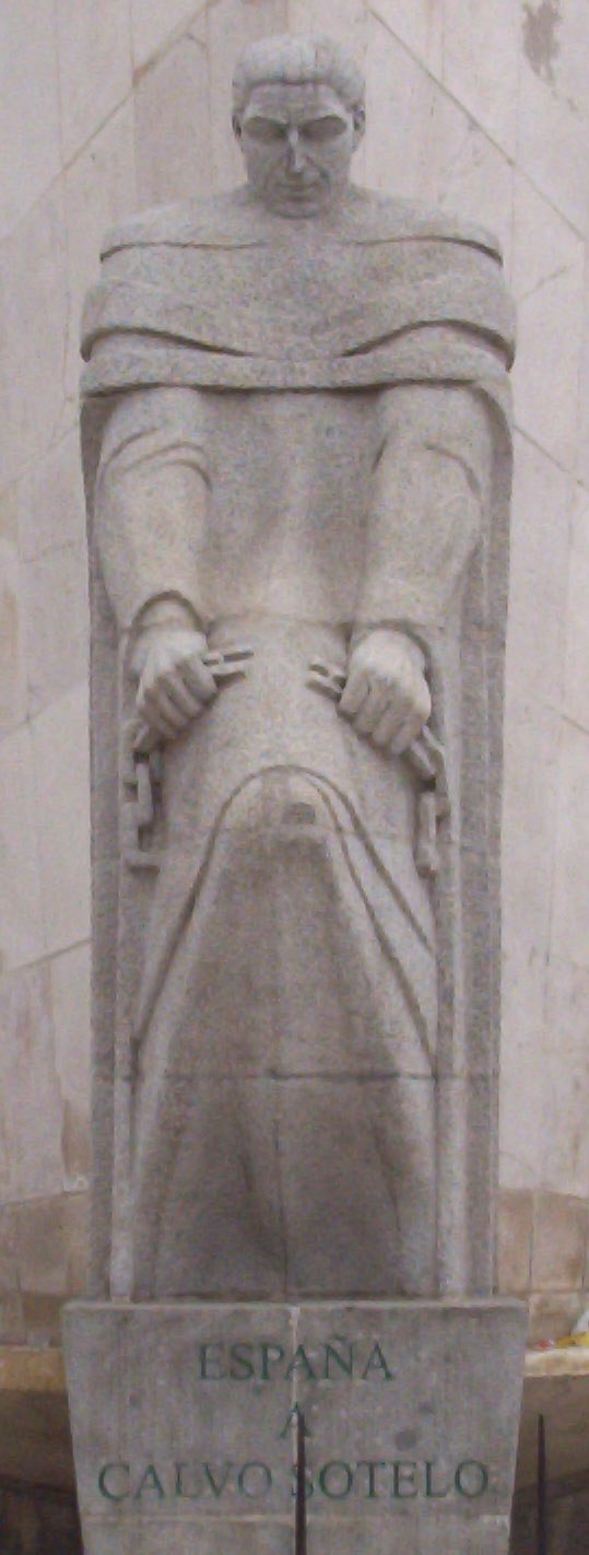 Monumento a José Calvo Sotelo (Madrid) 02