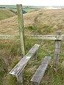 Moorland stile - geograph.org.uk - 558251.jpg