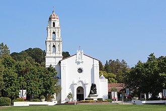 Moraga, California - Image: Moraga, CA USA Saint Mary's College of California panoramio (5)