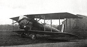 Morane-Saulnier ANL French First World War two seat fighter prototype with Liberty 400hp engine (front).jpg