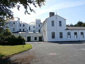 Moreton House, Bideford - Moreton House, north front