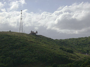 Serras de Sudeste - Hill near the urban area of Canguçu, with an altitude of 500 metres at the summit