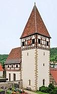 Morsbach Wehrkirche St. Alban und St. Wendelin 01