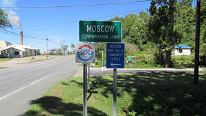 Moscow, Ohio - Image: Moscow OH1