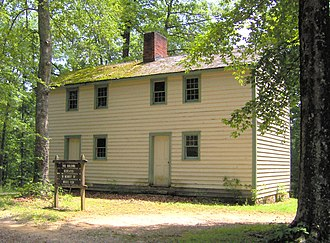 Standing Stone State Park - Home of prominent early Overton County pioneer Moses Fiske (1754-1843), near the park entrance