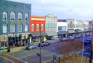 Mount Airy Historic District (Mount Airy, North Carolina) United States historic place