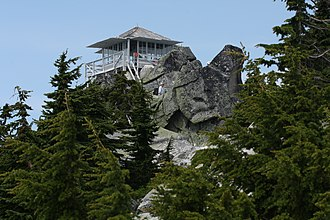 Mount Pilchuck State Park - Fire lookout on summit
