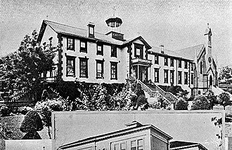 Mount Saint Mary's Convent and Academy - Image: Mount St. Mary's Academy (Grass Valley, CA)