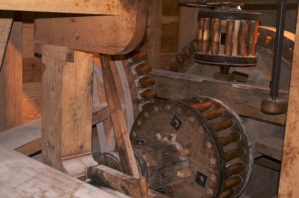 Mt Vernon Gristmill Gears
