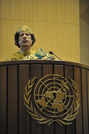 A peace plan for Qaddafi