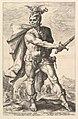 Mucius Scaevola, from the series The Roman Heroes MET DP821053.jpg