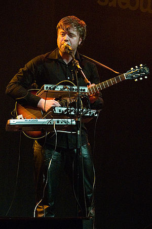 Mugison - Mugison at Moers Festival 2006, Germany
