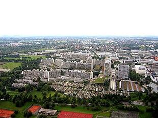 Villaggio olimpico di monaco di baviera wikipedia for Villaggio olimpico