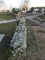Municipal cemetery, wall remains, 2019 Isaszeg.jpg